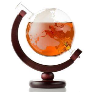 Carafe à whisky globe