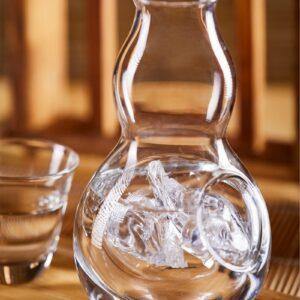 Carafe vin blanc avec compartiment glacon