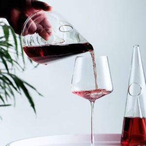 Carafe vin rouge type bordeaux
