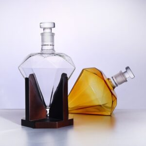 Carafe whisky diamant