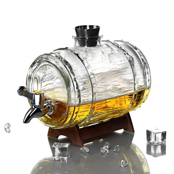 Carafe whisky très originale