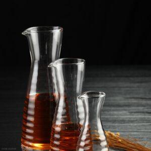 Pichet vin verre transparent