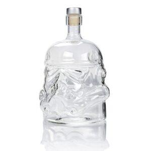 Carafe whisky tête de stormtrooper