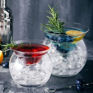 Verre à cocktail original