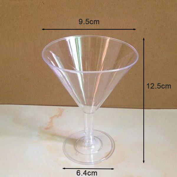 Verre cocktail plastique 20 cl