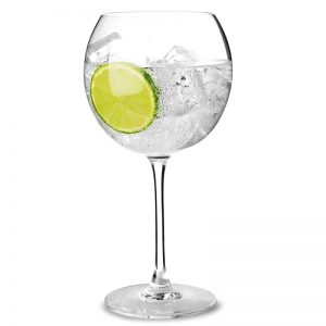 Verre gin tonic