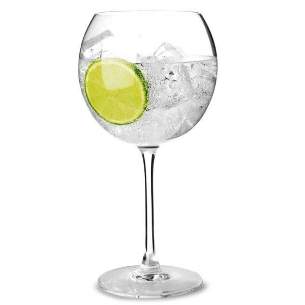 Verre gin tonic