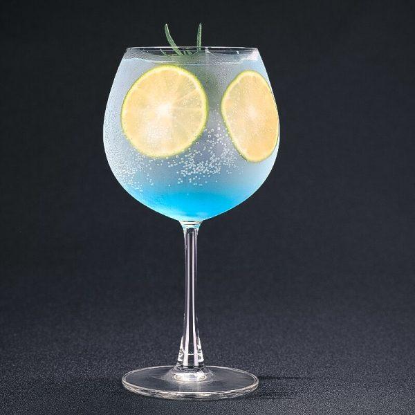 Verre gin tonic à pied