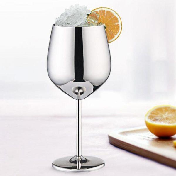 verre spritz couleur chromé