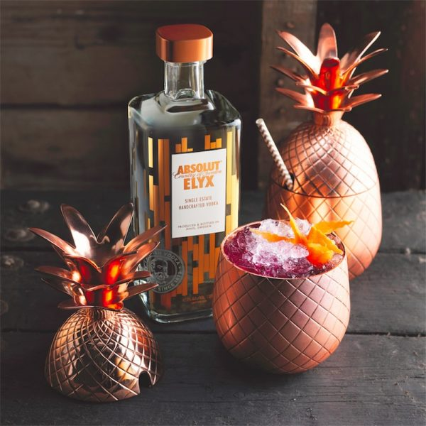 Verre ananas cocktail