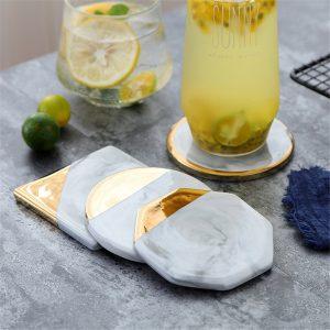 Dessous de verre ceramique moderne