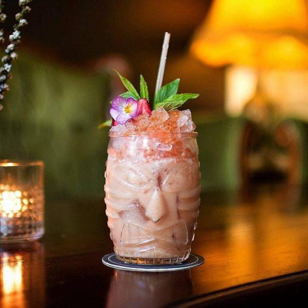 Verre cocktail tiki