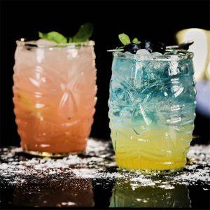 Verre cocktail tiki de Hawaï