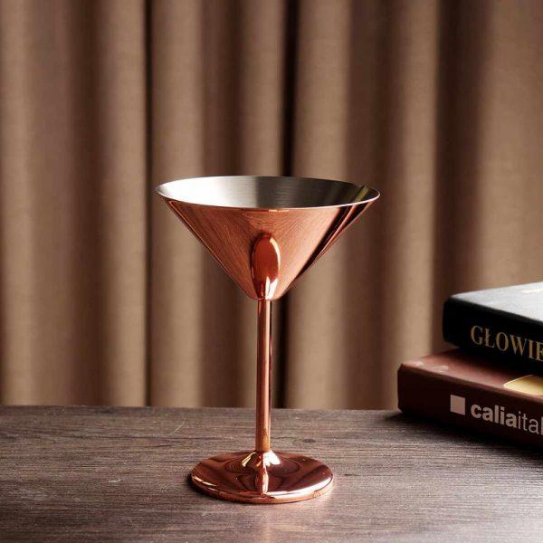 Verre cuivre cocktail