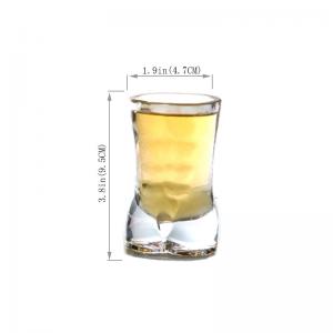 Verre original pour cocktail shooter