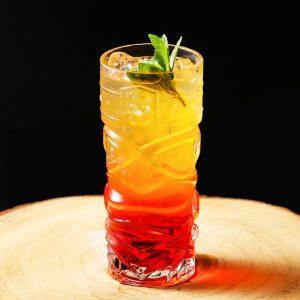 Verre tiki à cocktail