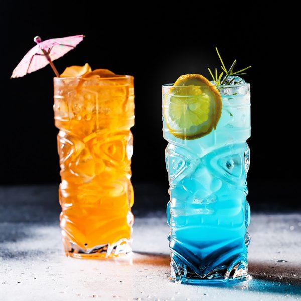 Verre tiki cocktail