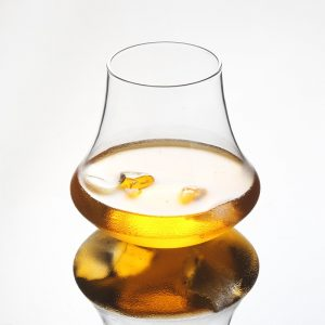 Verre whisky forme vintage