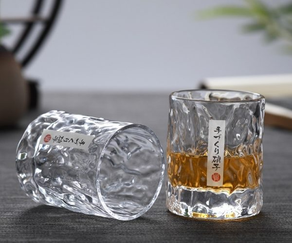 Verre whisky look japonais