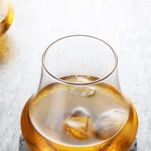 Verre whisky look vintage