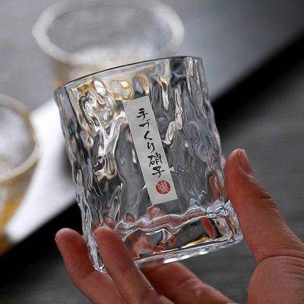 Verre whisky style japonais