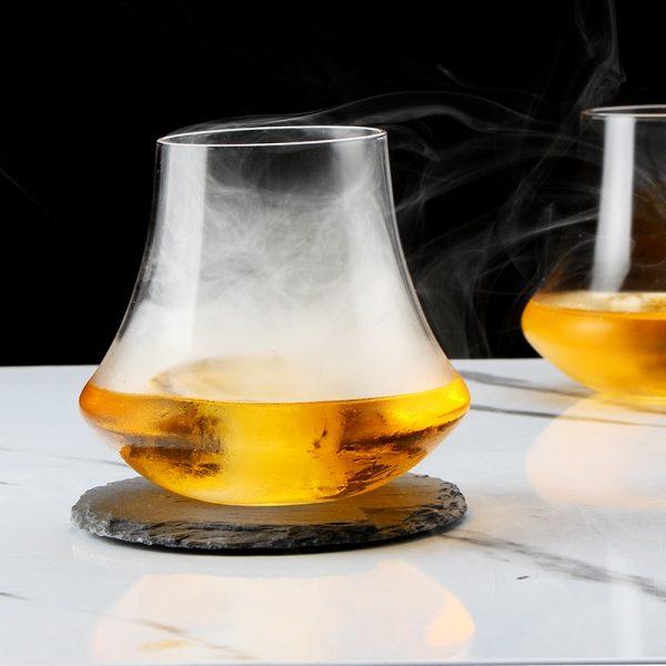 Verre whisky style vintage