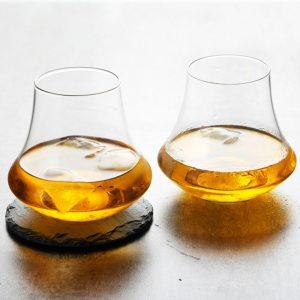Verre whisky vintage